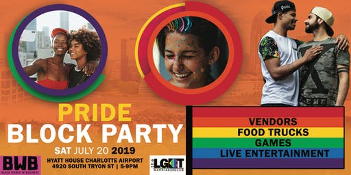 Pride Block Party- Charlotte NC