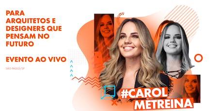 24/08 - Carol Me Treina - Ao Vivo - São Paulo ingressos