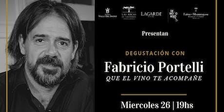 Degustacion con Fabricio Portelli en Ser y Tiempo! entradas