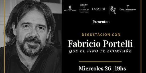 Degustacion con Fabricio Portelli en Ser y Tiempo!
