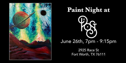 Jam to the Arts: Paint Night at The Post