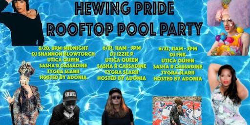 Hewing PRIDE Pool Party - Saturday