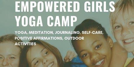 Empowered Girls Yoga Camp tickets