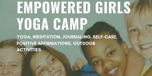 Empowered Girls Yoga Camp