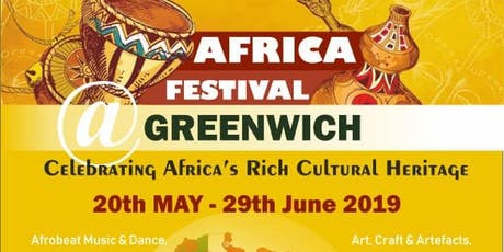 AFRICA FESTIVAL GREENWICH CLOSING EVENT tickets