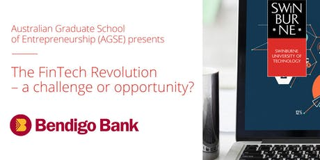 The FinTech Revolution - a challenge or opportunity? tickets