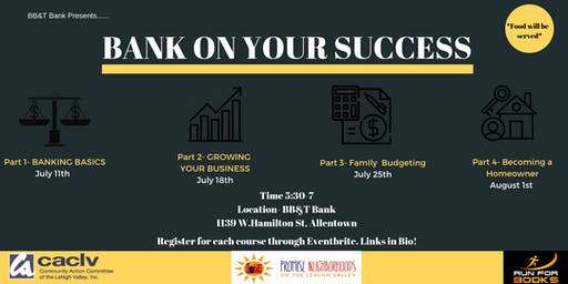 Bank On Your Success Part 1- Banking Basics
