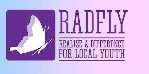 Host a RADFLY Christmas in July 2019