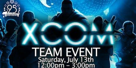 XCOM Team Event tickets
