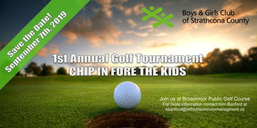 1st Annual Boys & Girls Club Charity Golf Tournament