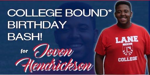College Bound Birthday Bash
