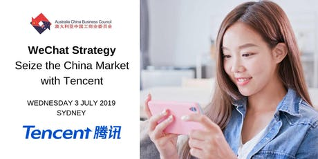 WeChat Strategy - Seize the China Market with Tencent tickets