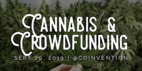 Cannabis Crowdfunding Masterclass tickets