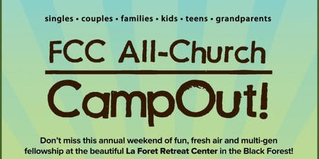 All Church CampOut! 2019 tickets