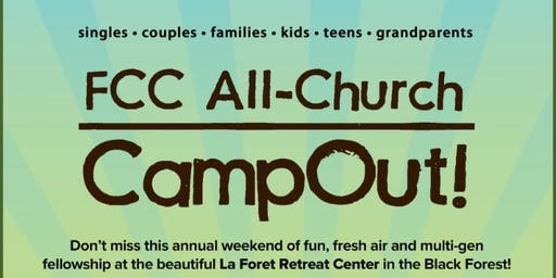 All Church CampOut! 2019