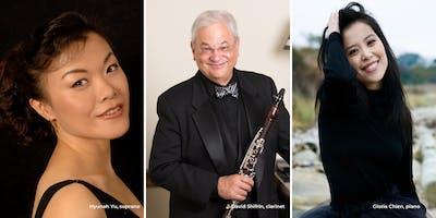 Hyunah Yu, David Shifrin, & Gloria Chien