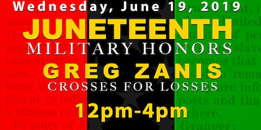 Juneteenth Military Honors