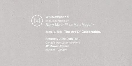 WHITExWHITE – Saturday, June 29th   FORTY2 tickets