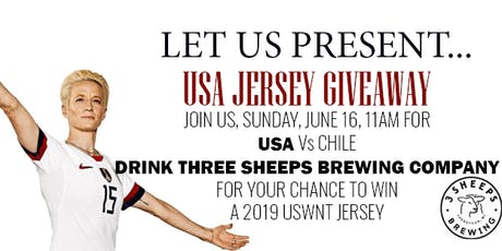 USA Jersey GIVEAWAY tickets
