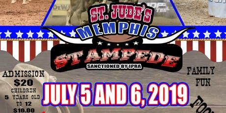 St Jude's Memphis Stampede Rodeo tickets