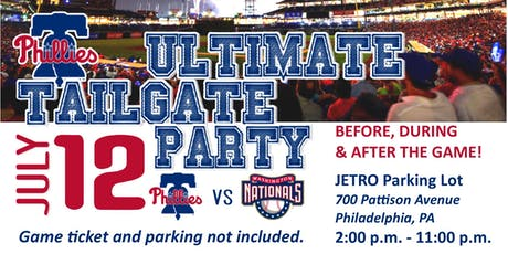Precision Power Wash's Ultimate Phillies Tailgate Party tickets