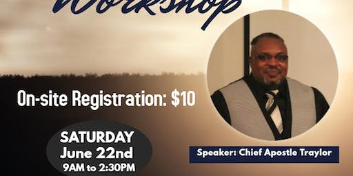 CLERGY WORKSHOP JEHOVAH SHALOM MINISTRY TRAINING COLLEGE