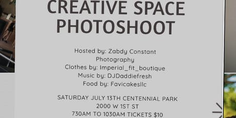 Creative Space Photoshoot  tickets
