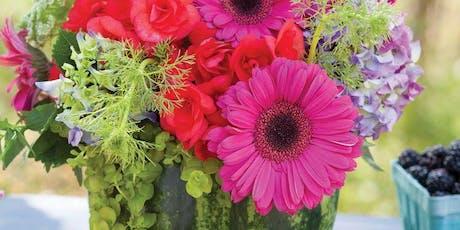Floral Design Workshop - Blooming Watermelon tickets