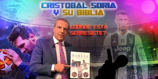 """Cristobal Soria y su """"Biblia"""" buscan a Serresiete en Miami"""