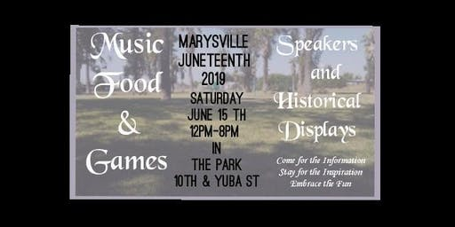 Marysville Juneteenth 2019
