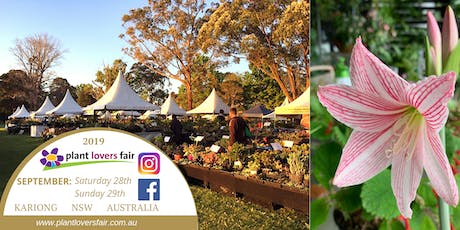 Plant Lovers Fair 2019 tickets