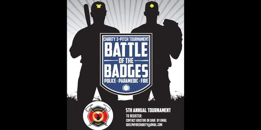 Battle of the Badges - Charity 3-Pitch Tournament