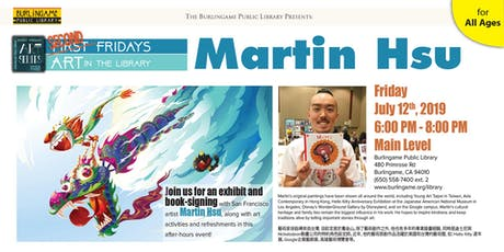 Friday Art Series: Martin Hsu tickets