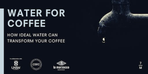 WATER FOR COFFEE SYDNEY