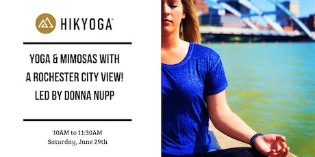 Yoga + Mimosas with a Rochester City View! tickets