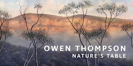 The Artist's Salon - Owen Thompson, artist tickets