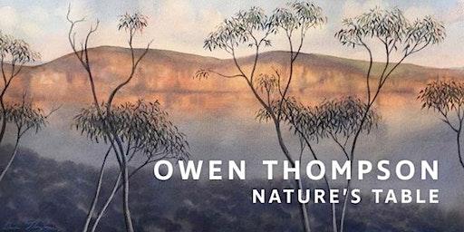 The Artist's Salon - Owen Thompson, artist