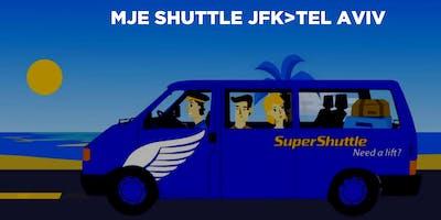 Israel 2019 Airport Shuttle to JFK