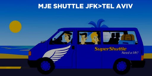 Israel 2019 Airport Shuttle to JFK - PICKUP 9:20PM SAT JULY 27th