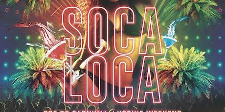 SOCA LOCA tickets