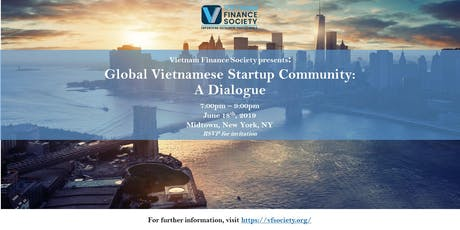 The Global Vietnamese Startup Community: A Dialogue tickets