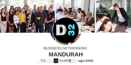 District32 Business Networking Perth – Mandurah - Fri 02nd Aug tickets