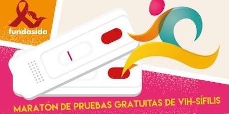 Maratón de Pruebas Gratuitas de VIH-Sifilis. boletos