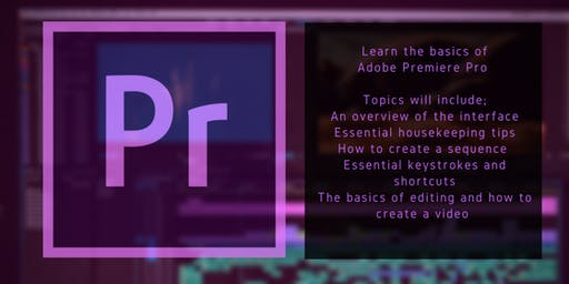 Intro to Adobe Premiere Pro for Social Media