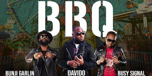 DAVIDO, BUSY SIGNAL & BUNJI GARLIN LIVE @ BIG BAD BBQ FOOD & MUSIC FESTIVAL