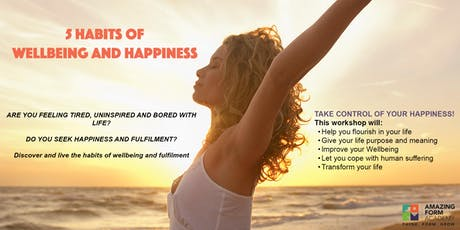 5 Habits of Well-being & Happiness  tickets