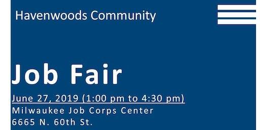 Havenwoods Community Job Fair Vendor Registration