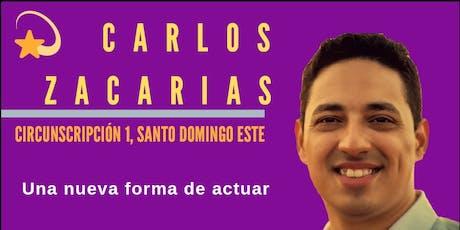 Lanzamiento Candidatura Carlos Zacarias Regidor  tickets