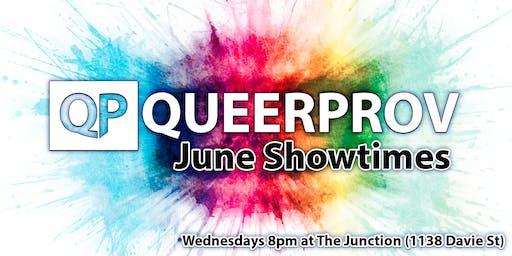 Queer Improv Comedy - June!
