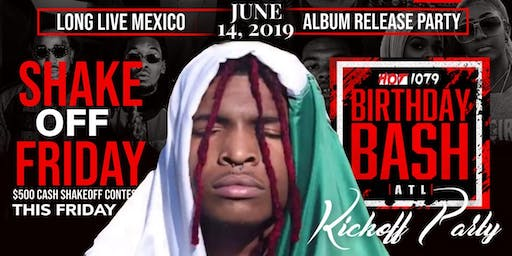 LIL KEED ALBUM RELEASE PARTY / PRE BIRTHDAY BASH KICKOFF PARTY